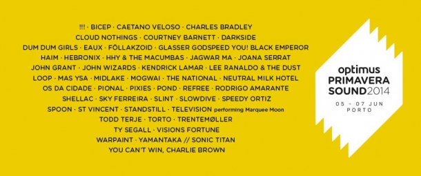 cartaz optimus primavera sound 2014