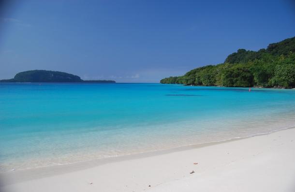 Champagne Beach - 10 Praias que Deve Conhecer