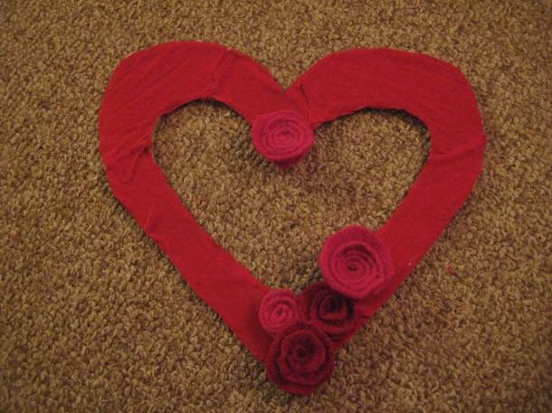 Coroa de Dia de São Valentim