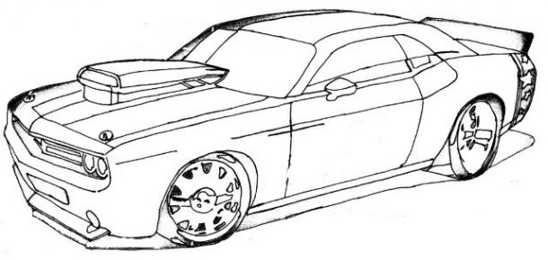 Desenhos De Carros- Online24