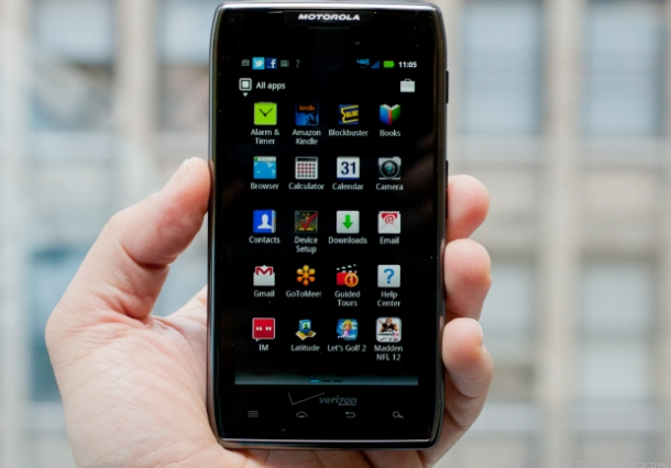 Motorola Razr Maxx - Melhores Smartphones Android
