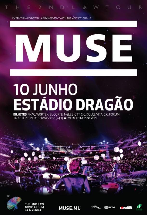 Muse em Portugal 2013