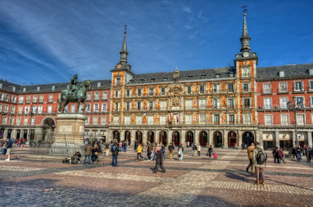 Plaza Mayor - o que visitar em Madrid